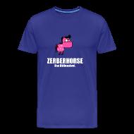 T-Shirts ~ Männer Premium T-Shirt ~ Zerberhorse