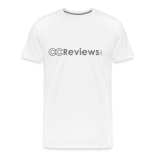Basic CCReviews.eu T-shirt [HQ] - Men's Premium T-Shirt