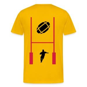 t-shirt rugby sport design - T-shirt Premium Homme
