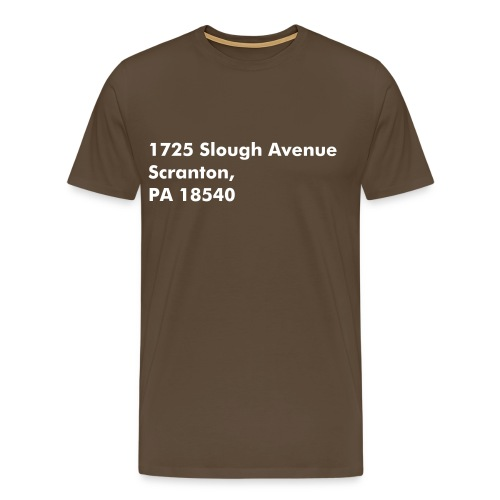 Address Series #2 (insp. by The Office) - T-shirt Premium Homme