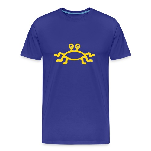 Fliegendes Spaghetti Monster - hellblau - Männer Premium T-Shirt