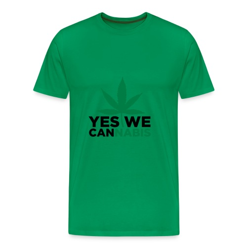 I love cannabis - Men's Premium T-Shirt