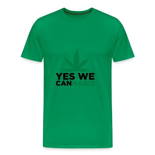 I love cannabis - Men's Premium T-Shirt