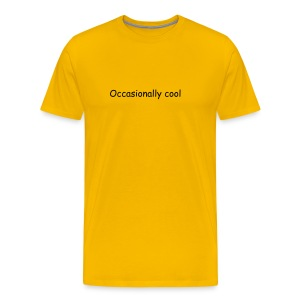 Occasionally Cool - Men's Premium T-Shirt