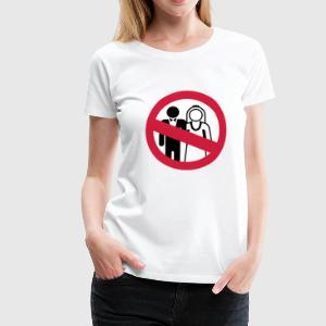 Anti Hochzeit | No Wedding T-Shirts - Camiseta premium mujer