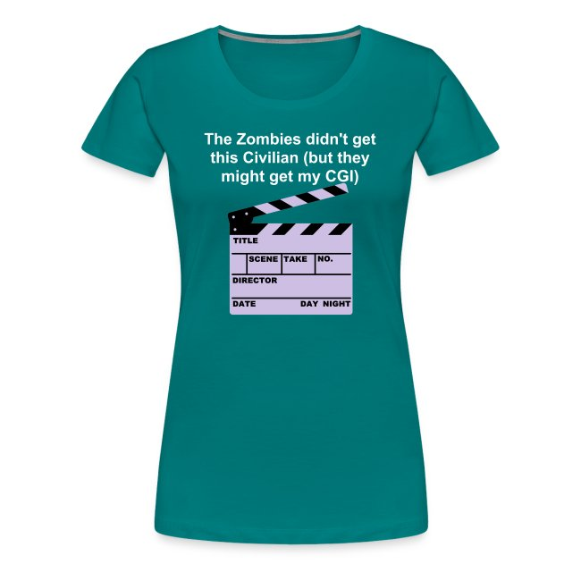 The Zombies didn't get me T-Shirt