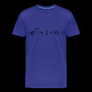 Tee shirts ~ T-shirt Premium Homme ~ Formule Fondamentale des Mathématiques