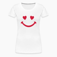 heart Smiley Smile T-Shirts
