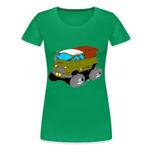 L'estafette de Raid à Donf ! - T-shirt Premium Femme