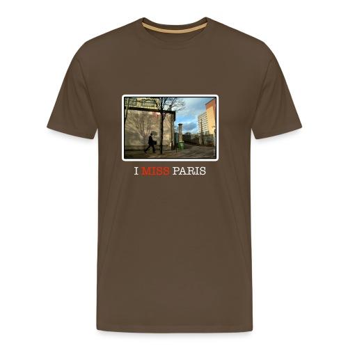 I miss Paris - Men's Premium T-Shirt