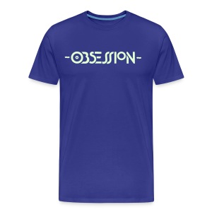 Obsession Glow in the Dark T-shirt - Men's Premium T-Shirt