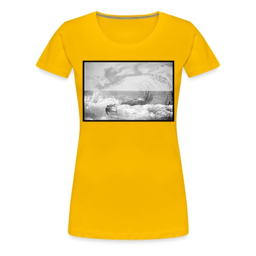 The Wave - T-shirt Premium Femme