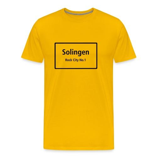 Solingen Rock City No.1 - T-Shirt Männer - Männer Premium T-Shirt