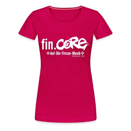 fin.core w - Frauen Premium T-Shirt