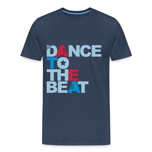 Dance to the beat t-shirt - Men's Premium T-Shirt