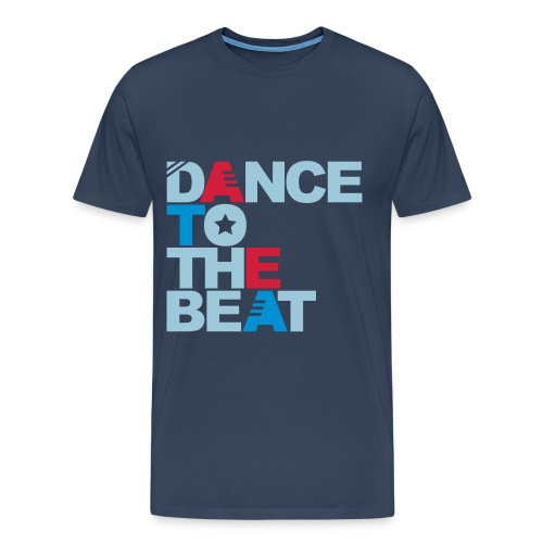 Dance to the beat t-shirt - Men's Premium T-Shirt