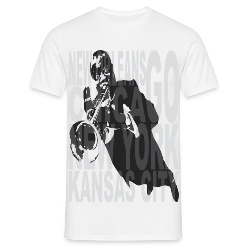 Cities of jazz Homme - T-shirt Homme