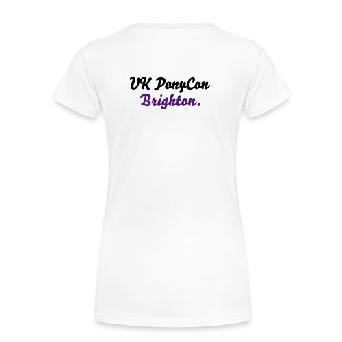 My Little Pony Collector in Training White Purple Tshirt - Women's Premium T-Shirt
