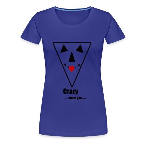 Crazy .... - Vrouwen Premium T-shirt