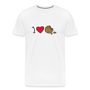 I love cookies T-shirts - T-shirt Premium Homme