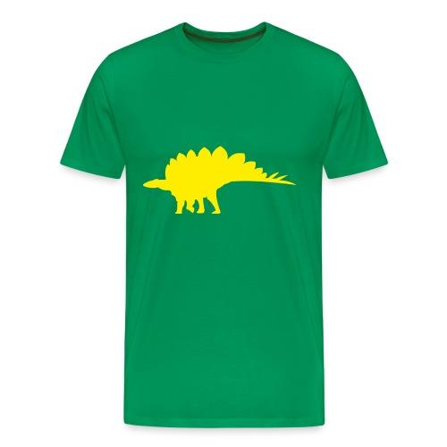 Stegosaurus - Men's Premium T-Shirt