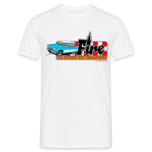 AMI 6 - FIRE - T-shirt Homme