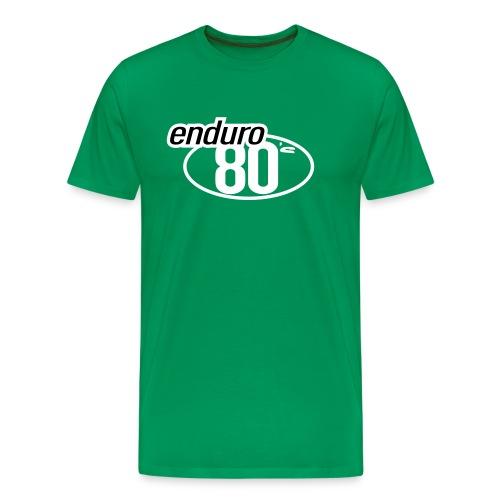 Enduro 80's British - T-shirt Premium Homme