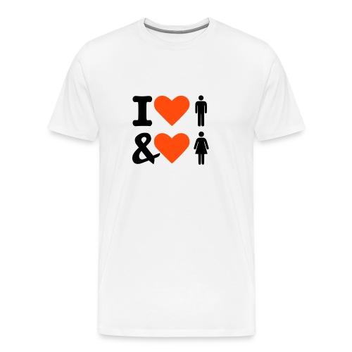 Bisexuell - Männer Premium T-Shirt
