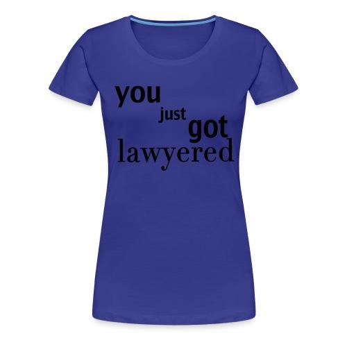 Lawyered shirt - women - Women's Premium T-Shirt