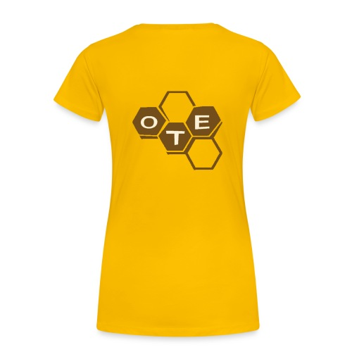 OTE-Girly - the yellow bee - Frauen Premium T-Shirt