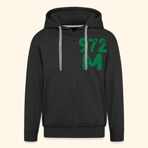 972 M, MARTINIQUE sweatshirt - Veste à capuche Premium Homme