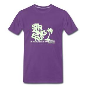 SIPREC   Strangers - Glow in the Dark - Mannen Premium T-shirt