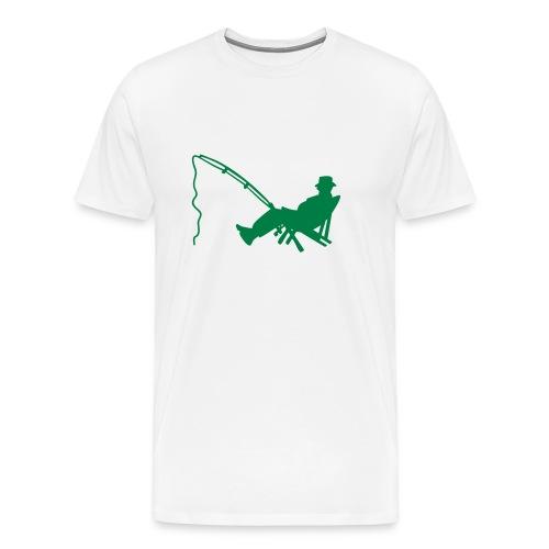 Wędkarz - Koszulka męska Premium