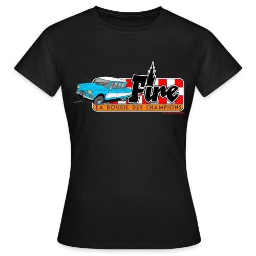 AMI 6 - FIRE - T-shirt Femme