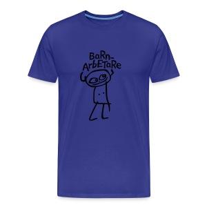 BARNARBETARE T-shirts - Premium-T-shirt herr