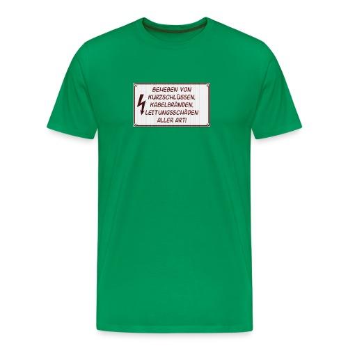 Leitungsschäden - Männer Premium T-Shirt