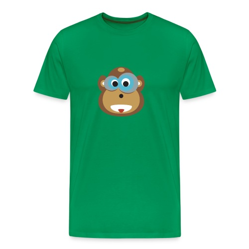 Moe the Monkey Men Shirt - Männer Premium T-Shirt