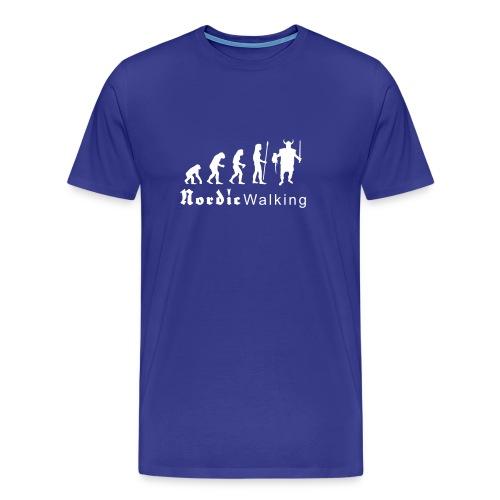 evolution_nordicwalking1 T-Shirts - Männer Premium T-Shirt
