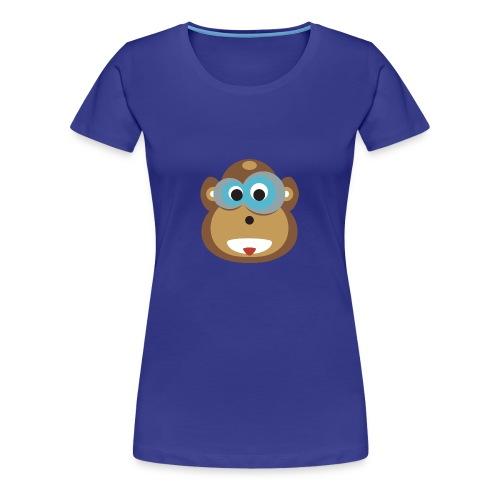 Moe the Monkey Women Shirt - Frauen Premium T-Shirt