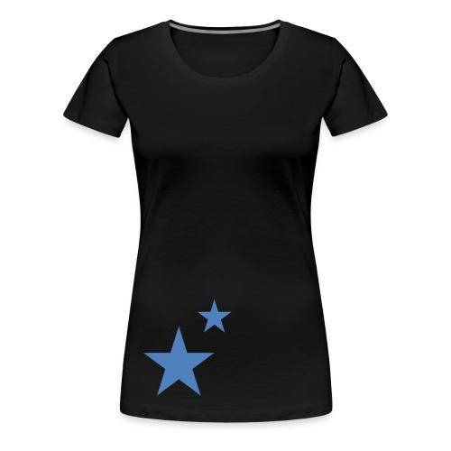 Junebug two stars - Frauen Premium T-Shirt