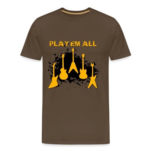 Play 'Em All - T-shirt Premium Homme