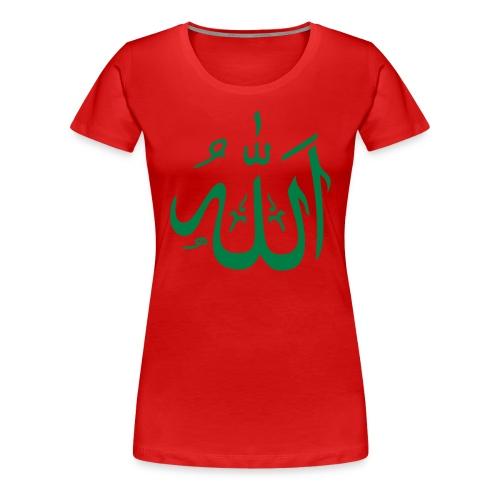 T-shirt Premium Femme - tunisie,maroc,islam,amour,allah,algerie