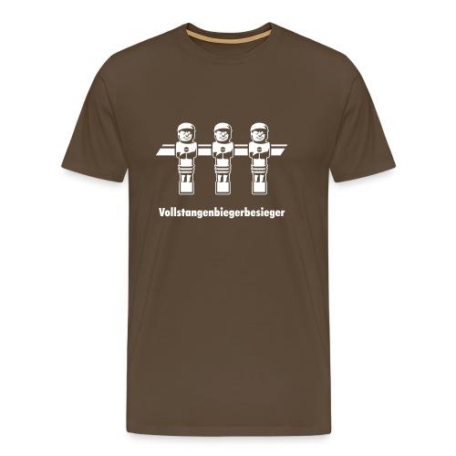 Vollstangenbiegerbesieger - Männer Premium T-Shirt