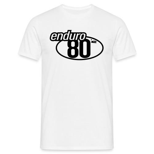 Enduro 80's Sable - T-shirt Homme