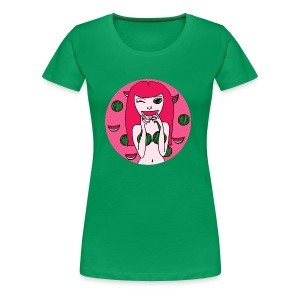 Melon Girl - Frauen Premium T-Shirt