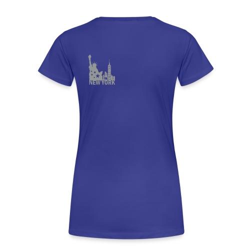 New York-D Frauen Girlieshirt - Frauen Premium T-Shirt