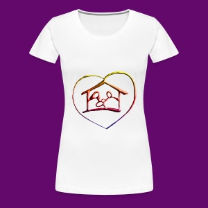 MAISON DES PARENTS - T-shirt Premium Femme