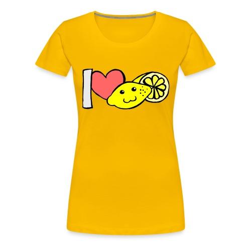 Zitrone - Frauen Premium T-Shirt