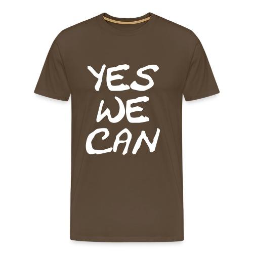 Yes we can - Männer Premium T-Shirt