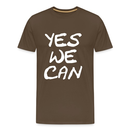 Yes we can - Männer Premium T-Shirt